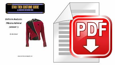 TNG admiral (season 1) analysis PDF
