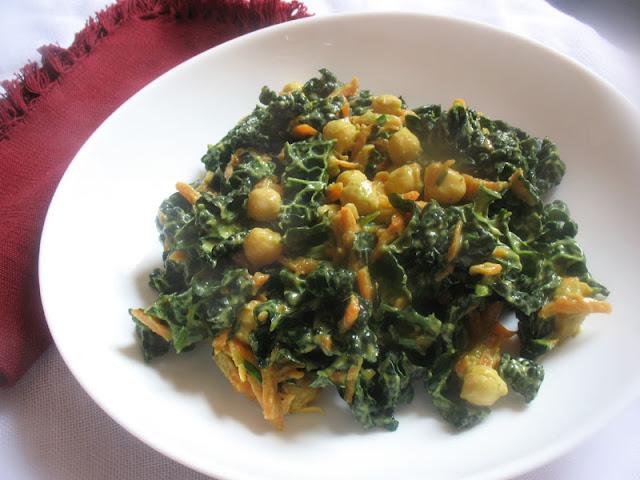 Chickpea Kale Salad