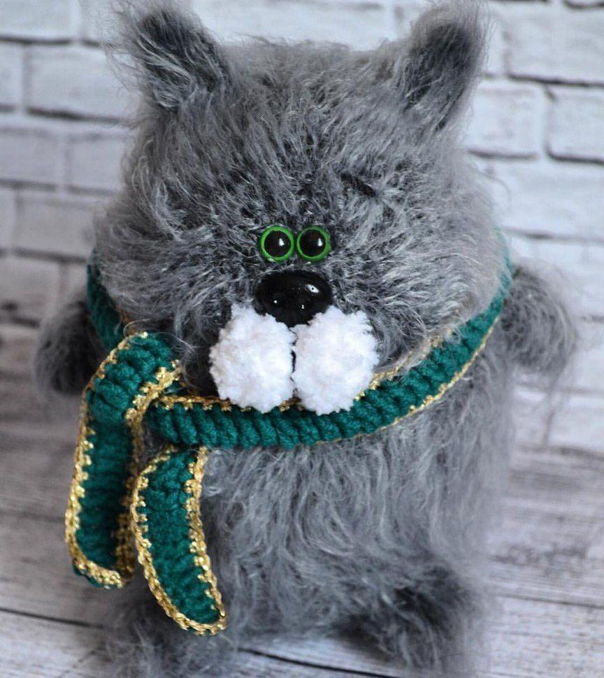 1000 схем амигуруми на русском: Котик амигуруми