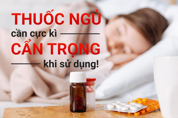 Uống thuốc ngủ thường xuyên có thể chết sớm