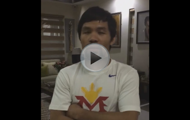 Manny Pacquiao Apologizes to LGBT Community