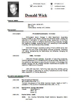 Resume Builder For Undergraduates | Free Resume Format Examples