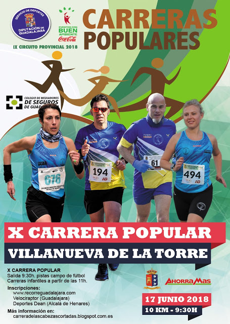X CARRERA POPULAR VILLANUEVA DE LA TORRE