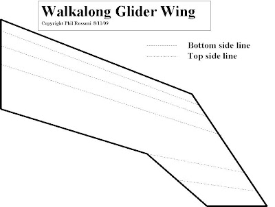 Alpha romeo: How to make a Walkalong Glider
