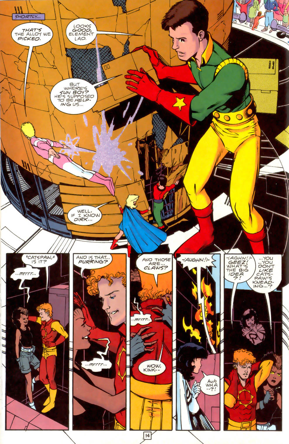 Legion of Super-Heroes (1989) 41 Page 14
