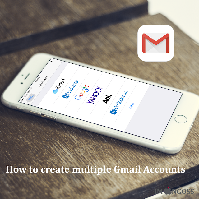Gmail, an email service which is very necessity thing in this internet technology world and is more efficient and useful powered by Google. In this busy days, many users have multiple gmail account for different purposes like for office use, for business use, for personal matter and other. So its easy to create multiple gmail accounts on  your  iPhone, iPad and iPod touch.