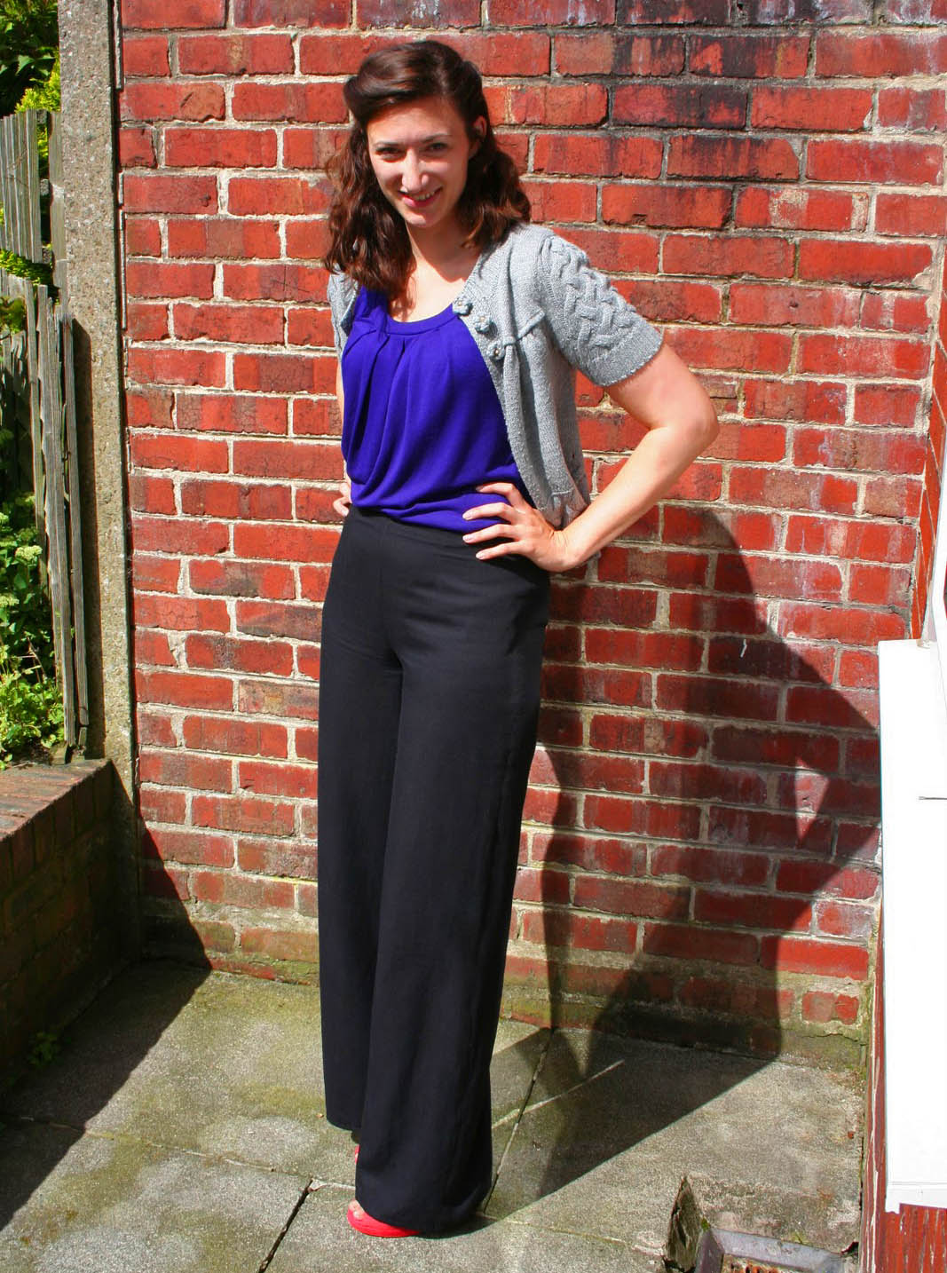 The Butterfly Balcony - Simplicity 3688 1940's Trousers