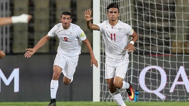 9. Iran - nhất bảng D vòng loại thứ 2.