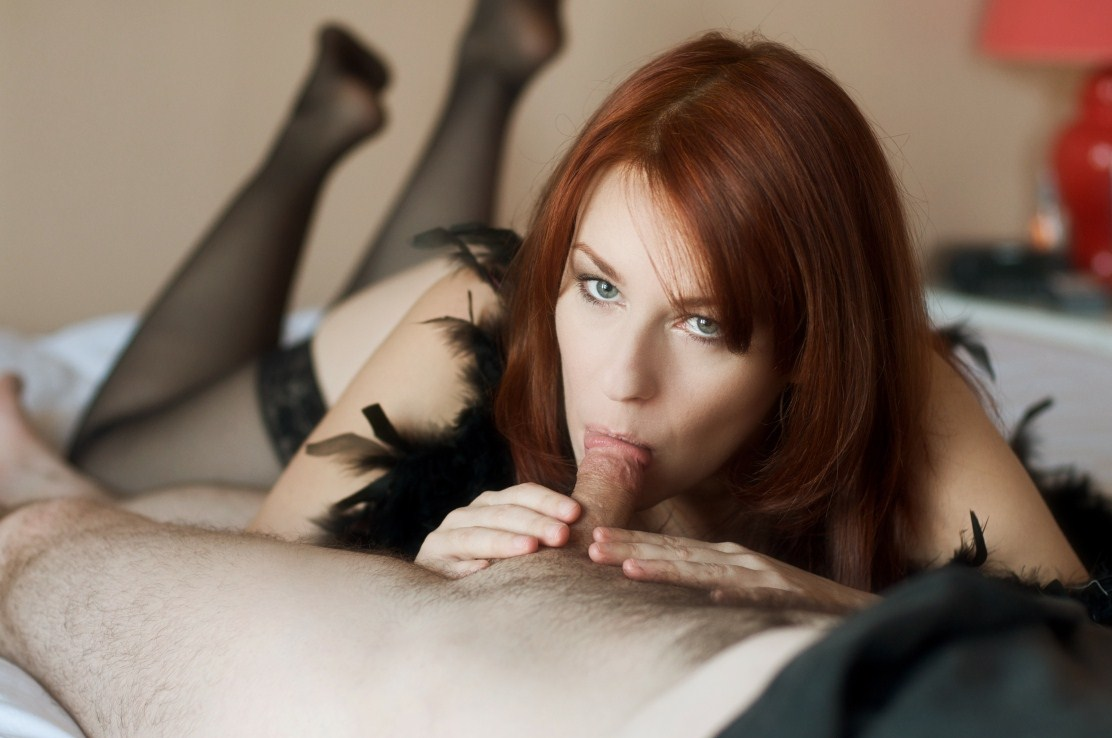 That red head milf blowjob