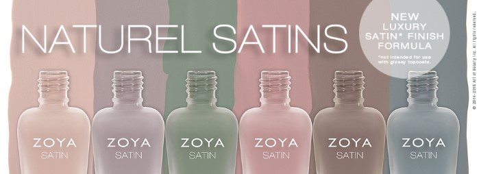 Zoya Naturel Satins