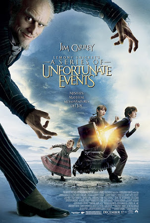 Poster Of Free Download A Series of Unfortunate Events 2004 300MB Full Movie Hindi Dubbed 720P Bluray HD HEVC Small Size Pc Movie Only At worldfree4u.com