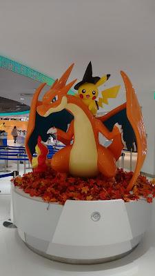 Pikachu y un dragón