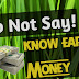 Do not say । now earn money