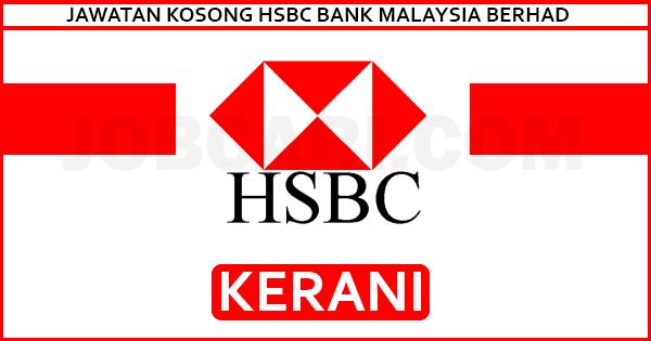 JAWATAN KOSONG HSBC