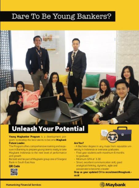 Lowongan Kerja Young Maybanker Program Maybank