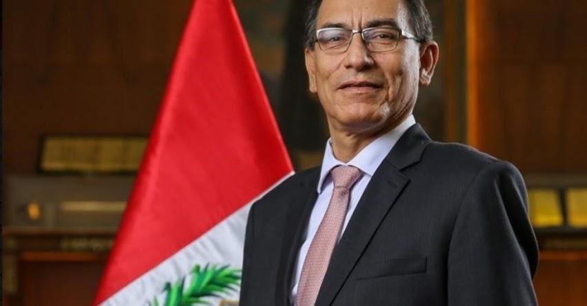 MARTÍN ALBERTO VIZCARRA CORNEJO: Hoy Juramentará como Presidente de la República 2018-2021