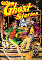 Amazing Ghost Stories v1 #16 - Matt Baker 1950s golden age comic book cover art