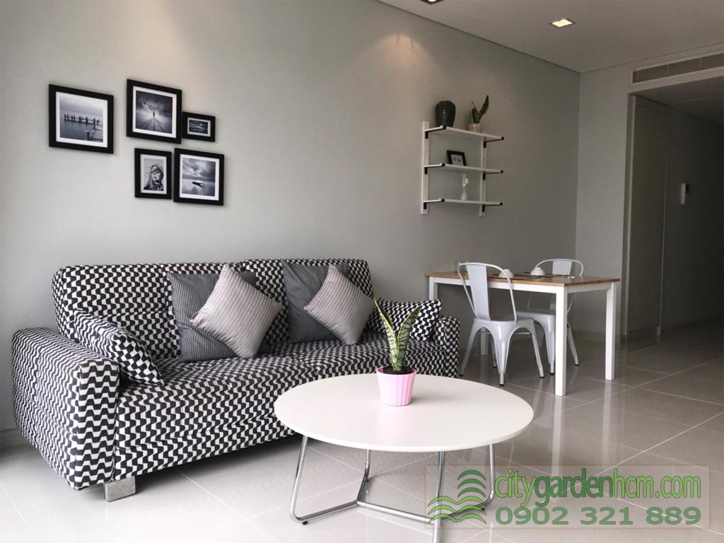 Cho thuê 1 phòng ngủ căn hộ City Gardenr Bình Thạnh