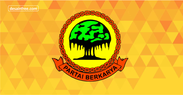 Logo Mentahan Partai Berkarya Format CDR