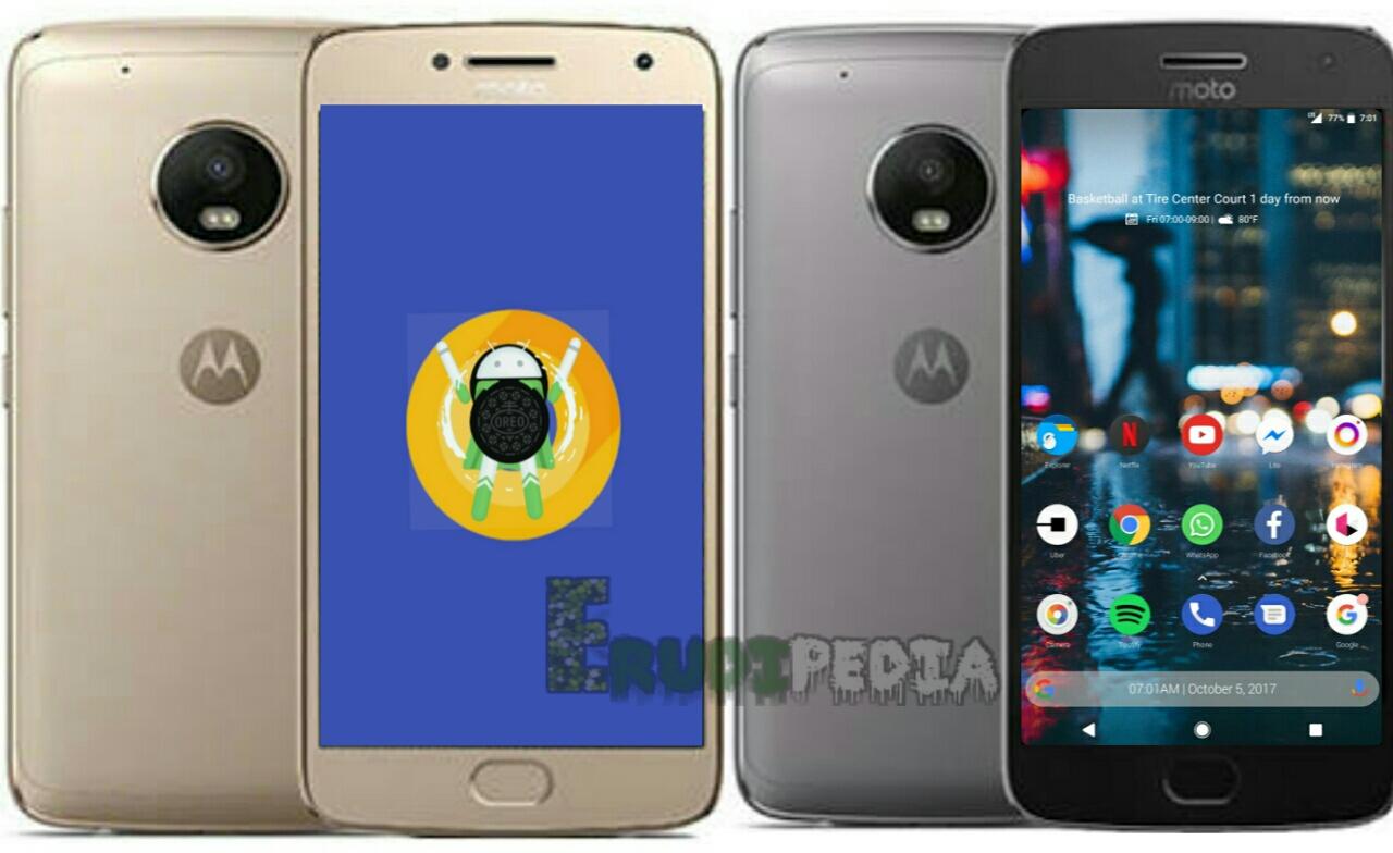 Motorola Moto G5 and G5 plus Oreo updates