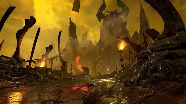 Imagens do game DOOM para Xbox One