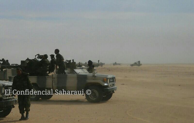 Resultado de imagen de ejercito saharaui