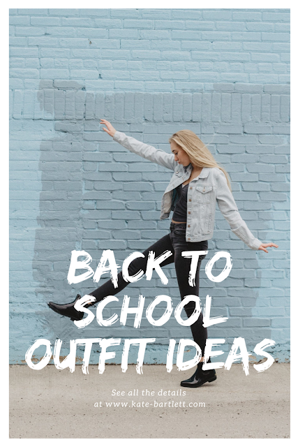 Back To School Outfit Ideas by Kate Bartlett