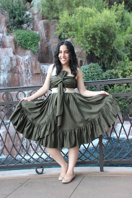 DVF Summer Green Dress