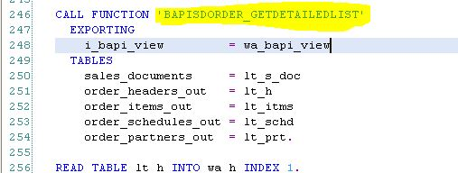 SAP OTC Process: BAPI Sales Order Create Extension - Part 2