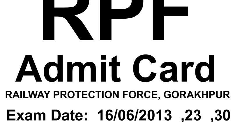 RPF GORAKHPUR ~ Fast Job Alert