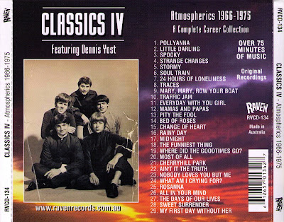 Classics IV - Atmospherics 1966-1975. A Complete Career Collection