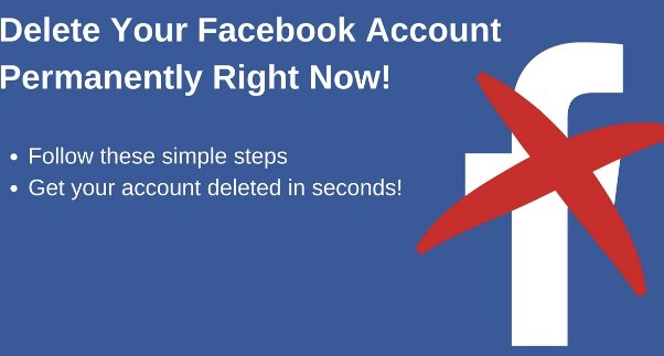 How to Delete Facebook Permanently 2017