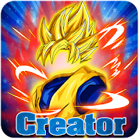 Create Dragon Z Saiyan Warrior MOD APK