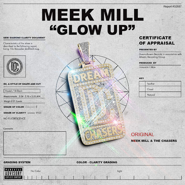 Meek Mill - Glow Up - Single Cover