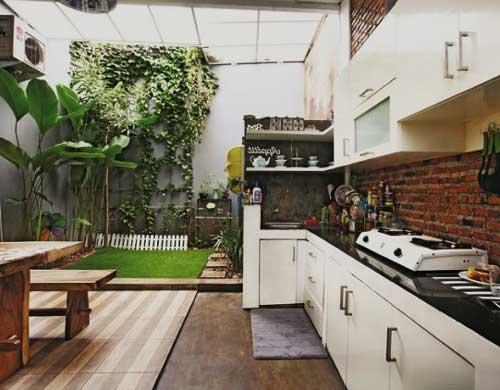 dapur outdoor untuk rumah type 36
