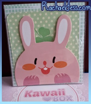 Kawaii Note card and envelope