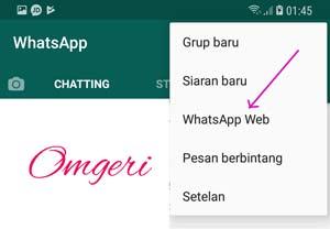 Cara Membuka Aplikasi Whatsapp Pada PC / Laptop