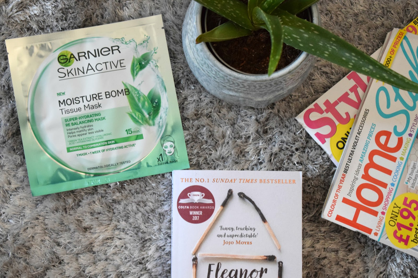 Garnier skinactive moisture bomb green tea tissue mask review