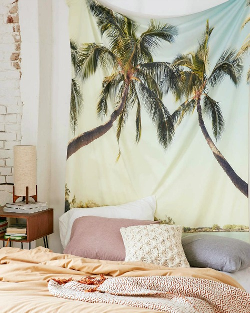 Palm Trees Tapestry Wall Hanging