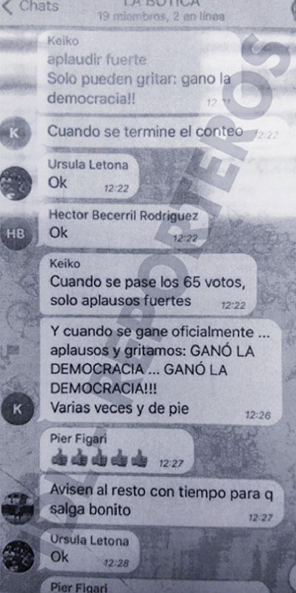 Keiko Fujimori, odena decir GANÓ LA DEMOCRACIA
