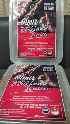 Amir BBQ Lamb Shoulder Frozen - Kambing BBQ
