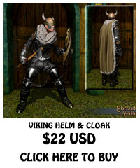 For Sale Viking Helm & Cloak