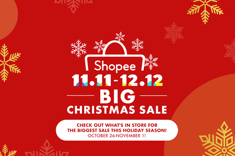 Shopee kicks off their biggest Christmas sale