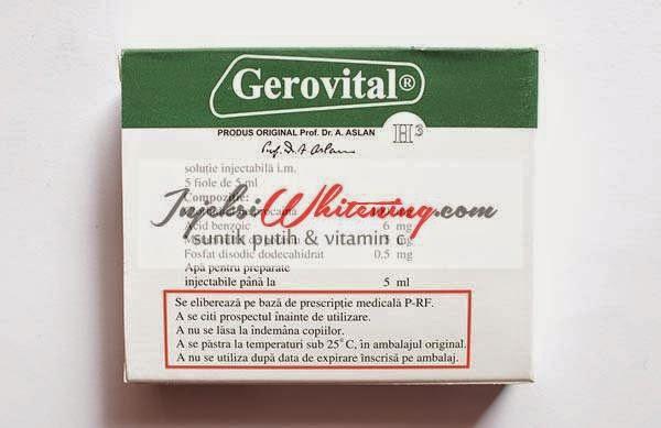 Gerovital H3 Prof. DR. Ana Aslan (GH3 Injection)
