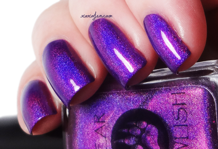 xoxoJen's swatch of Bear Pawlish Holo Back Girl!
