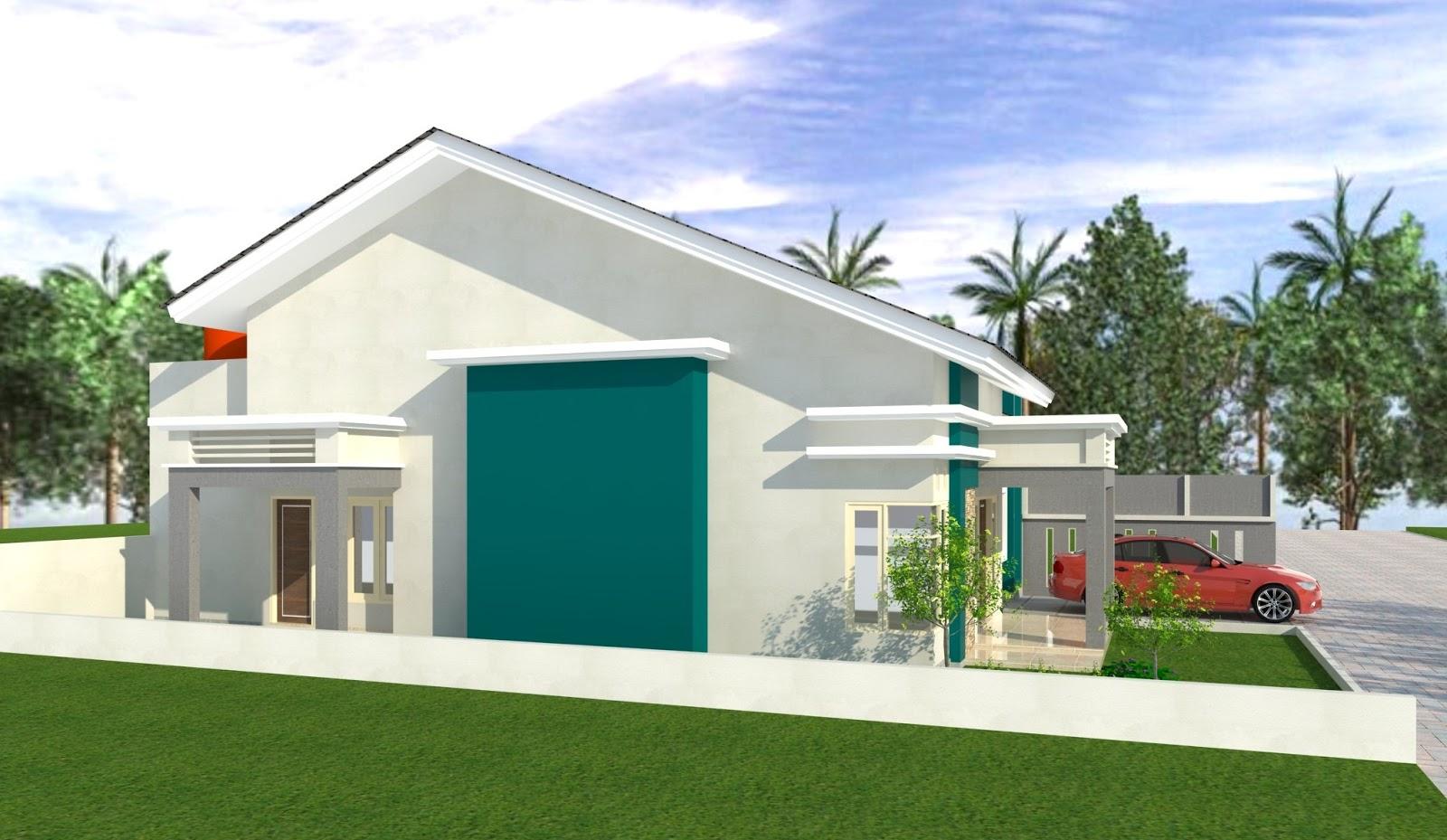Desain Rumah Type 100  Milik Pak Daud Padang Jasa