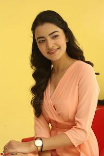 Rukshar Mir in a Peachy Deep Neck Short Dress 005.JPG