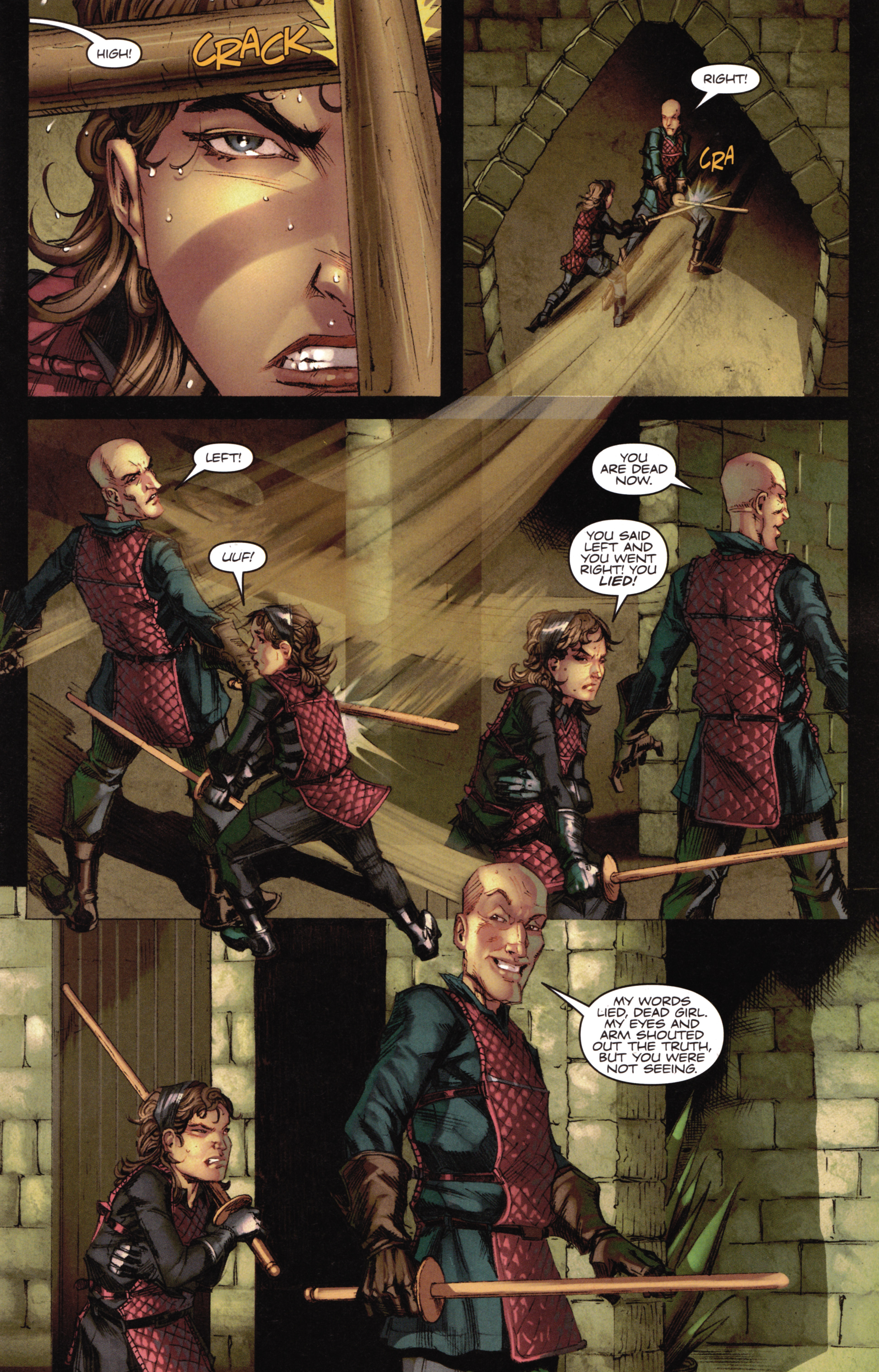 Read online A Game Of Thrones comic -  Issue #16 - 13