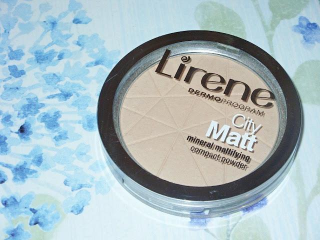 Recenzja: Mineralny puder matujący do twarzy, City Matt Lirene