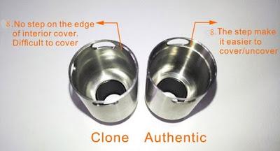 Perbedaan antara Rda Tsunami Clone dan Authentic